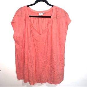 🌷5/$20 New Directions Women's Peach Top